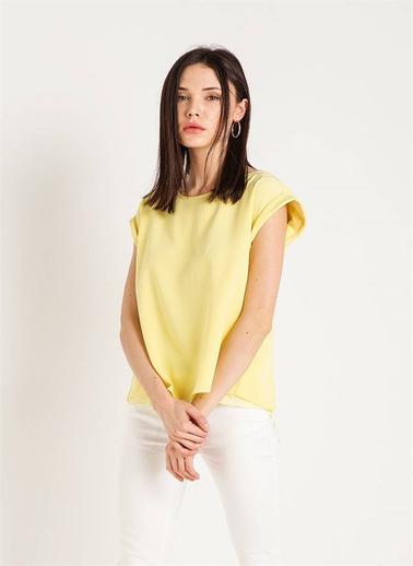 Rue Kolsuz Bluz Sarı
